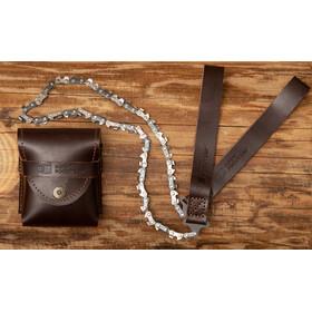 Nordic Pocket Saw Premium Pocket Saw Leather Version, brown